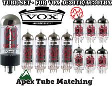 Tube Set for Vox AC30TB/AC30TBX  JJ Electronics/TESTLA valves