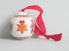 Hutschenreuther Christmas Tree Small Bauble Decoration.  Design Ole Winther.