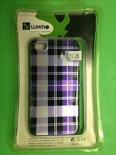 New Luxmo Luxury Mobile CAIP4PPCK Crystal Phone Case for Apple Iphone 4G