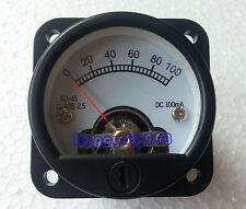SO-45 100mA  VU panel meter for 300B 2A3 KT88 845 Tube amplifiers 45X45mm