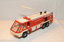 SIKU 3722 FLUGFELDLOSCHFAHRZEUG AIRPORT FIRE ENGINE BERLIN TEGEL NEAR MINT