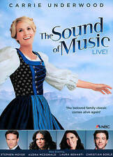 THE SOUND OF MUSIC LIVE! DVD CARRIE UNDERWOOD-STEPHEN MOYER WIDESCREEN 2013 NR