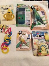 Super Pet, Penn Plax JW, Lot with 6 bird toys mixed for small birds (BT#13)
