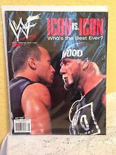 WWE WWF MAGAZINE MAY 2002 THE ROCK HULK HOGAN WRESTLING SPORTS SUPERSTARS
