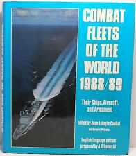 COMBAT FLEETS OF THE WORLD 1988/89 Couhat Ships Aircraft Weapon Military History