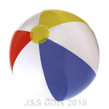 "New Inflatable Blow up Panel Beach Ball 24"" 60cm Swimming Party Fun For Holiday"