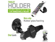 "Universal Cellet Windshield Car Mount Tablet Holder for Tablets up to 9.7"" Wide"