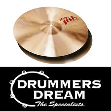 """Paiste 14"""" PST7 Light Hi Hats Cymbals Bright  ** ONE ONLY **  Washy, wide range"""
