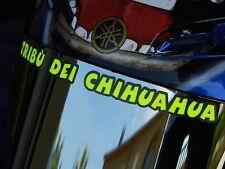 VALENTINO ROSSI Helmet visor decal  sticker TRIBU DEI CHIHUAHUA fluorescent VR46