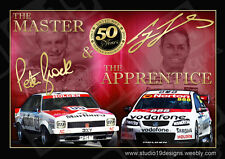 Peter Brock Bathurst 50 Years Artwork, Holden, V8 Supercars,Lowndes Triple Eight