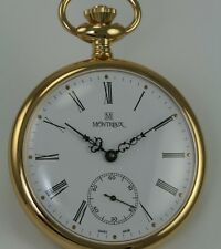 Montreux Pocket Watch with ETA 6497-1 Movement
