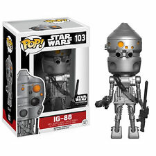 "EXCLUSIVE STAR WARS IG-88 SMUGGLER'S BOUNTY 3.75"" POP VINYL FUNKO"