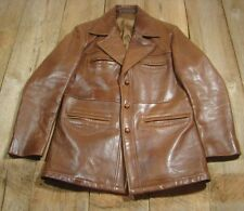 Vintage Glazed Lambskin Leather Jacket-Goodfellas-Robert Lewis-40-VGC-Soft