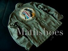 Ralph Lauren Denim & Supply Indian Head Field Jacket $245NWT polo rl chief usa L