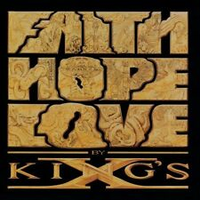 KING'S X - Faith hope love - CD 1990 NEAR MINT CONDITION