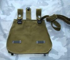 WWII WW2 German Army Bread Bag With Shoulder Strap Color Brown