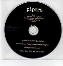 (DQ377) Pipers, 5 track album sampler - 2013 DJ CD
