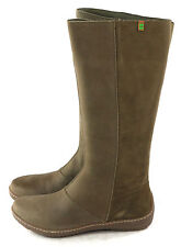 El Naturalista Womens Bee ND83 Knee High Winter Boot Brown sz 36 EU 5.5 - 6 US
