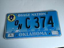 Osage Nation Indian Tribe Tribal  License Plate !!!