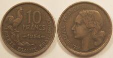 10 Francs Guiraud 1954, Rare et TTB !!
