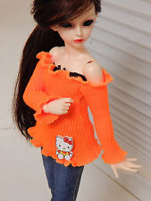 New handmade Sweater outfit  BJD 1/4 MSD MiniFee Girl clothes/dress/Clothing