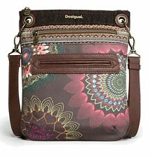 Desigual Cross Body Bag Bols Dakota Bandolera Chocolate