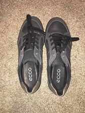 New Men's Ecco sneakers black/warm grey size 9-9.5