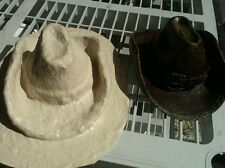 CONCRETE PLASTER MOLD LATEX ONLY  4 tall 9 long ready to ship
