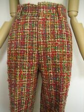 Junya Watanabe Comme des Garcons Multi colour Wool Tweed Pants