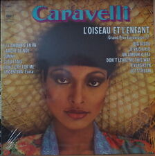 CARAVELLI L'OISEAU ET L'ENFANT CHEESECAKE COVER  FRENCH LP