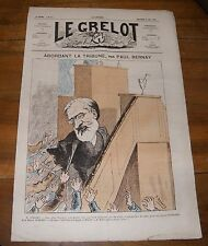 Le Grelot Journal Satirique N°111 Abordant la Tribune par Paul Bernay Mai 1873