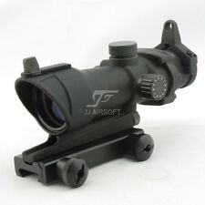 JJ Airsoft 4x32 Scope Red/Green Reticle illumination (Black)