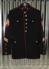 """USMC US MARINE CORPS DRESS BLUES JACKET 39 EXTRA SHORT 38"""" CHEST"""