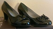 """FINAL LISTING: 13WW CORAL Black Patent/Bow Tip, Limited Availability, 2.5"""" Heel"""