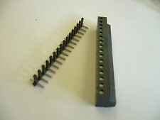 WACO PLUG IN TERMINAL STRIP 970FBW-D516  AND PC BOARD MOUNT 16 POS. 5MM SPACING