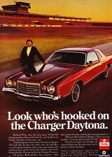 1976 Dodge Charger Daytona  Original Advertisement Print Car Ad J538