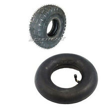 Petrol Scooter Tire 300x4 + TUBE 9x3.50/3.00-4 Part Gas Skateboard Mountainboard