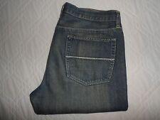 """W34 L34 GAP Straight Leg Fit Blue Denim Mens Jeans Waist 34"""" Leg 34"""" -FAST POST"""