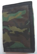 Men's Buxton Camo  Military ID Trifold Wallet,Green