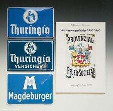Set 3 x e-mail panneaux assurance + catalogue assurance panneaux 1900-1960