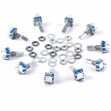 Hot 10pcs 12mm Rotary Encoder Push Button Switch Keyswitch Electronic Components