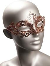 Ann Summers Rose Gold Metal Mask Sexy Rose Gold Bedroom Accessory Sex Bondage