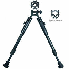 Foldable Adjustable Hunting Rifle Bipod With Picatinny/Weaver Rail Barrel Mount