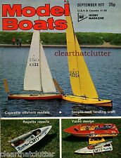 HMS ROYAL OAK - Fighting Fleets in Miniature Model Boats Magazine September 1977