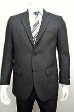 Men's Black Classic Fit Dress Suit Size 52R NEW Suit