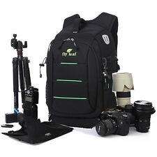 Deluxe DSLR Camera Backpack Bag Rucksack Case For Canon EOS Sony Pentax Nikon