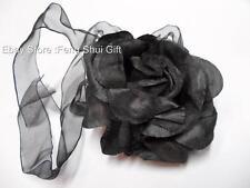 Party Fashion Women Ladies Elegant Rose Flower Neck Tie Head Band Decoration #B