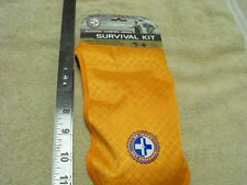 15 Pieces Survival kit, Water Resistant bag, First aid kit, Survival tools, Fish