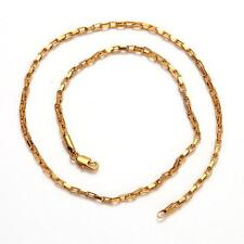New Cool 20inches 8g 18K Yellow&White Gold Plated Necklace Chain C104