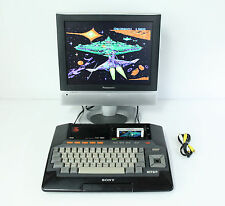 """Sony MSX HiTBiT HB-101 Personal Computer Console """"Excellent++"""" Tested Properly!!"""